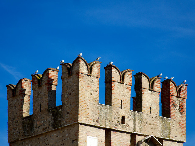 Scaligero Castle in Sirmione