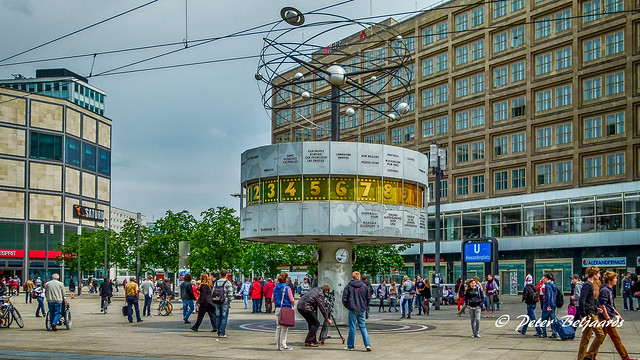 Wereldklok Alexanderplatz Berlijn