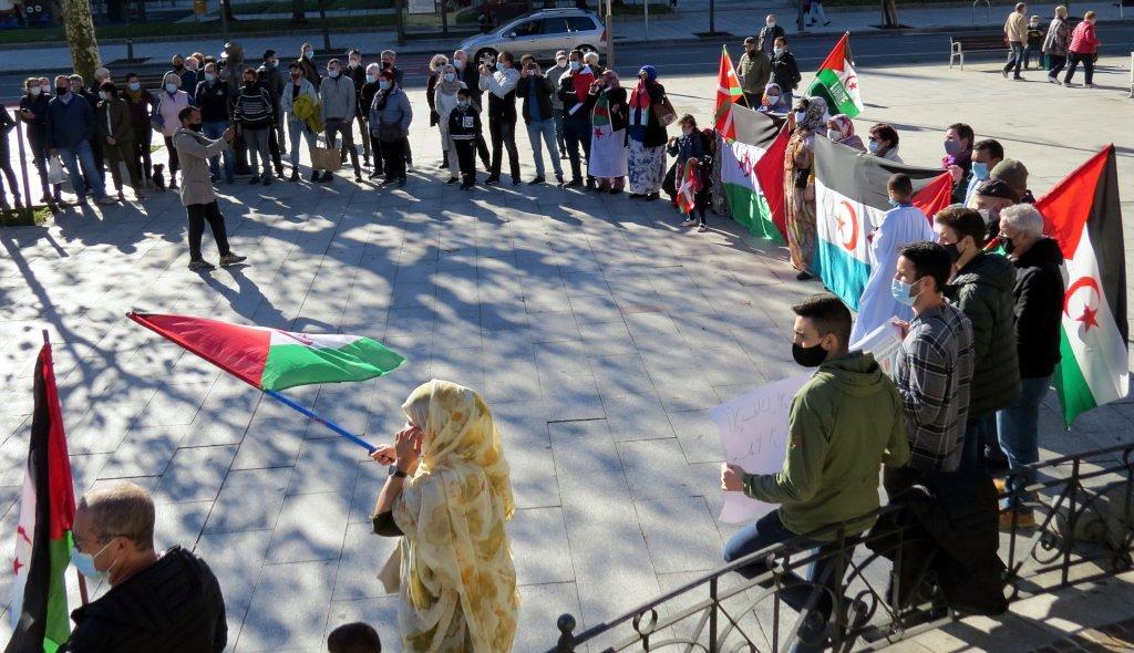 Concentración Pueblo Saharaui 21-11-2020