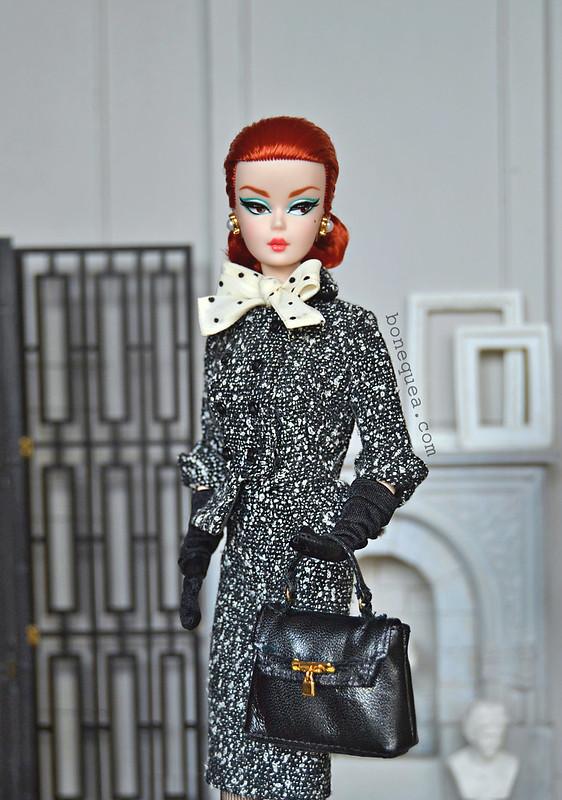 Black & White Tweed Suit Barbie