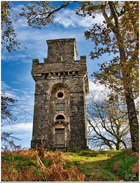 Lady Margaret's Tower, Benderloch, Scotland.