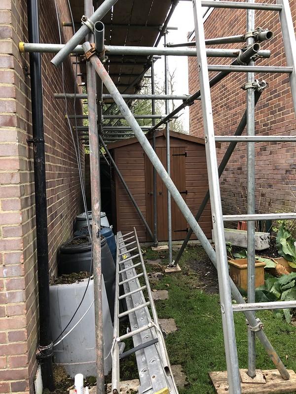 Roof work!