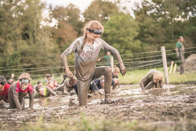 Disliking all the mud.