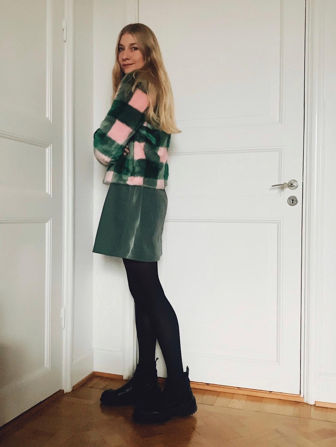 grön & rosa