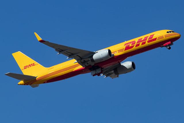 G-DHKR DHL Air UK B757-200 Madrid Barajas Airport