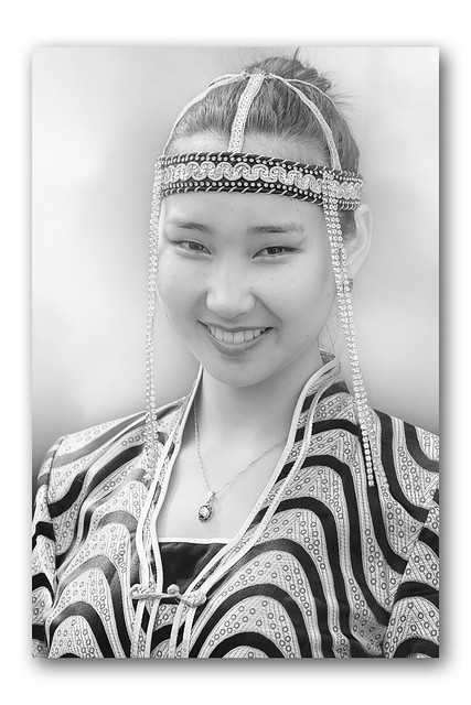 Jeune femme Mongole