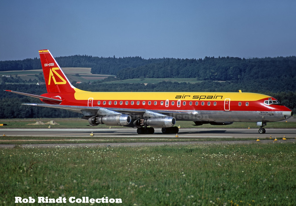 Air Spain DC-8-21 EC-BXR