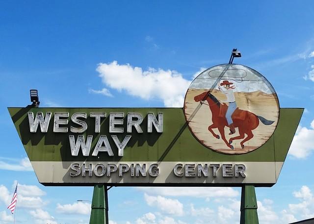 FL, Orlando-FL 50 Western Way Shopping Center Neon Sign