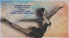 La compagnie de ballet de fées captives présente le fantôme de l'opéra