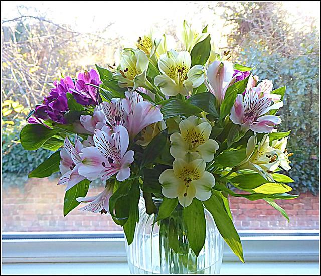My Birthday Bouquet ..