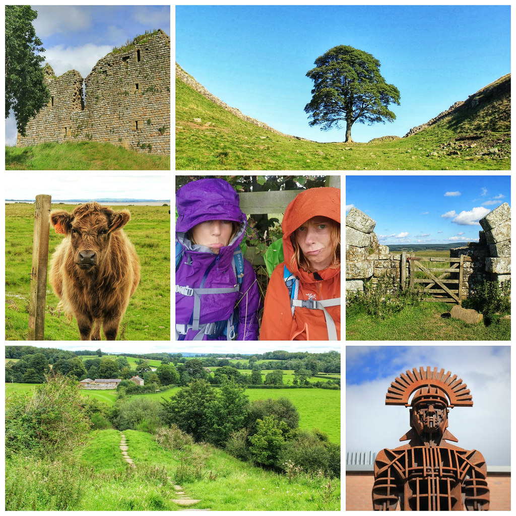 Hadrian's Wall collage