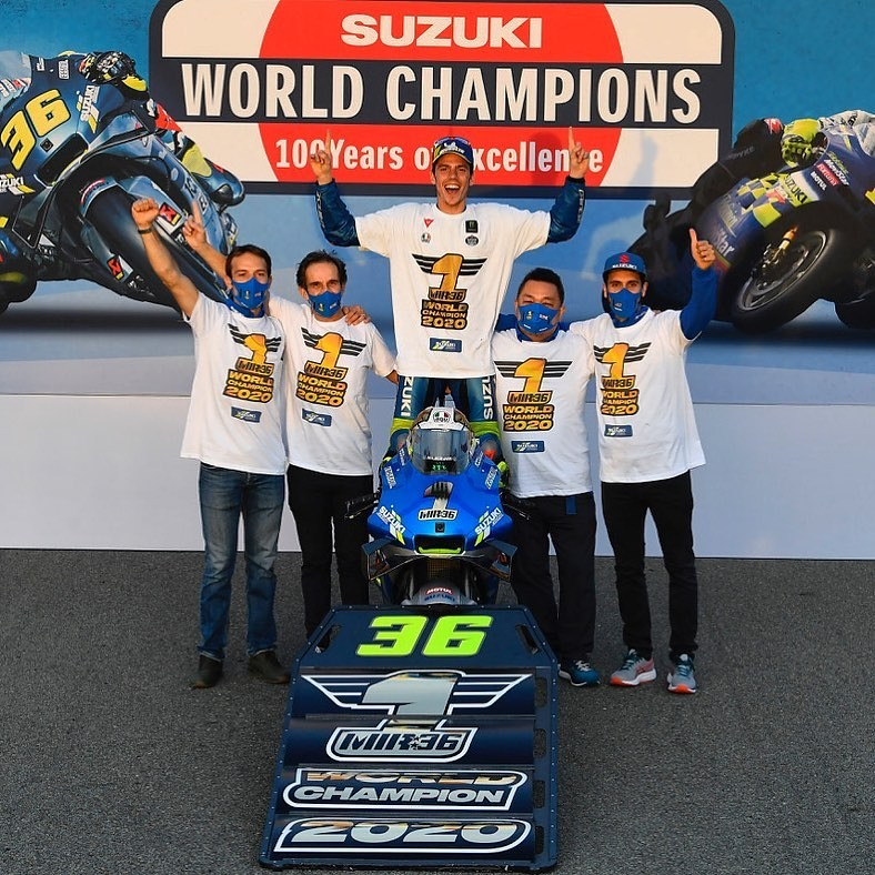 2020 MotoGP Team Winner