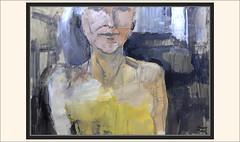 JASPER BLUE-ACTRIZ-CINEMA-ART-ACTRESS-ARTE-PINTURA-PLASTICA-PORTRAIT-INSINUACION-MUJER-RETRATOS-ACTRICES-CINE-ADULTOS-PINTOR-ERNEST DESCALS