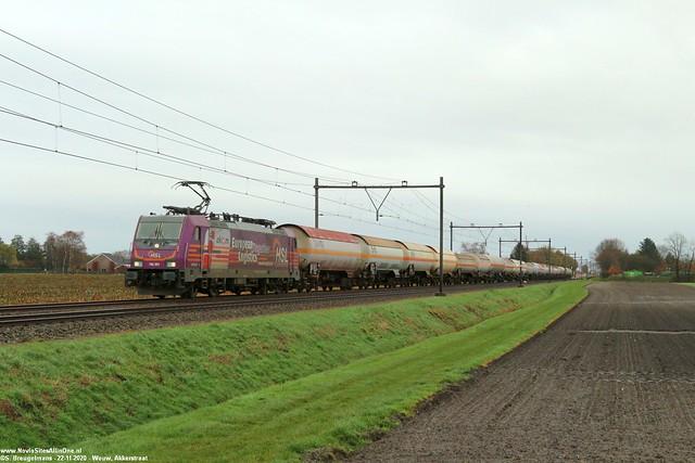 HSL 186 383 - Wouw 22-11-2020.