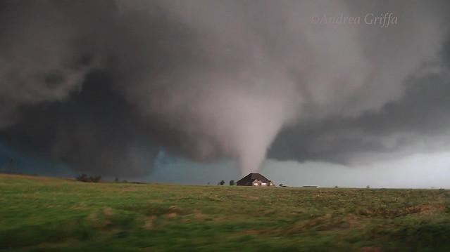 El Reno first tornado