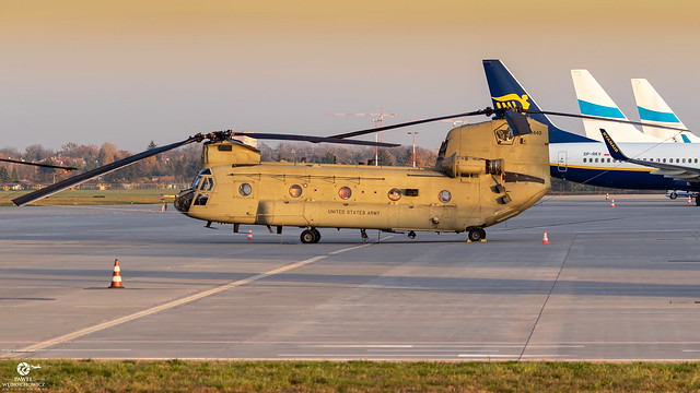 US Army  13-08443 Boeing CH-47F Chinook