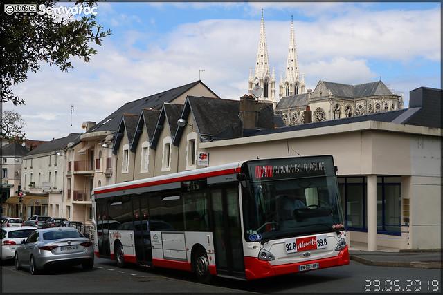 Heuliez Bus GX 337 – TPC (Transports Publics du Choletais) / CholetBus n°50