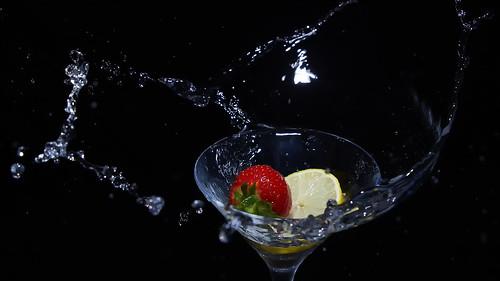 Lemon & Strawberry Splash
