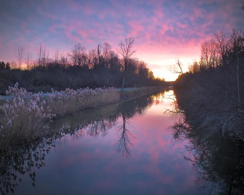 darktable erie canal nys parks newyork nyspark sunrise