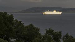 Strait between Corfu and Albania