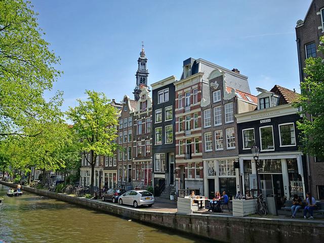Waterside life, Amsterdam