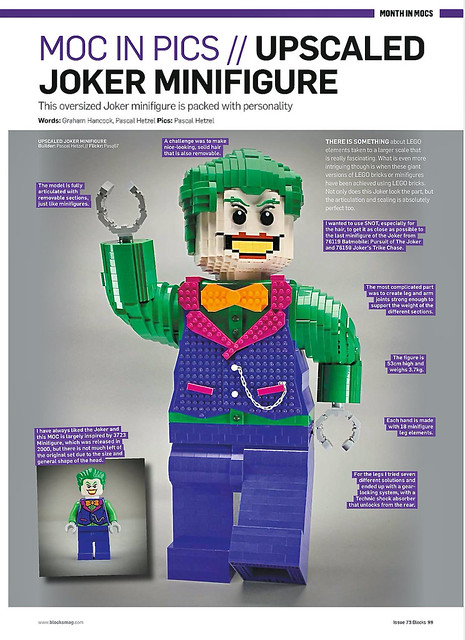 Blocks issue 73 | Pages 99 my Joker