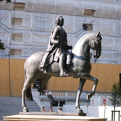 The Equestrian Statue of Francis I, Holy Roman Emperor, Version 2