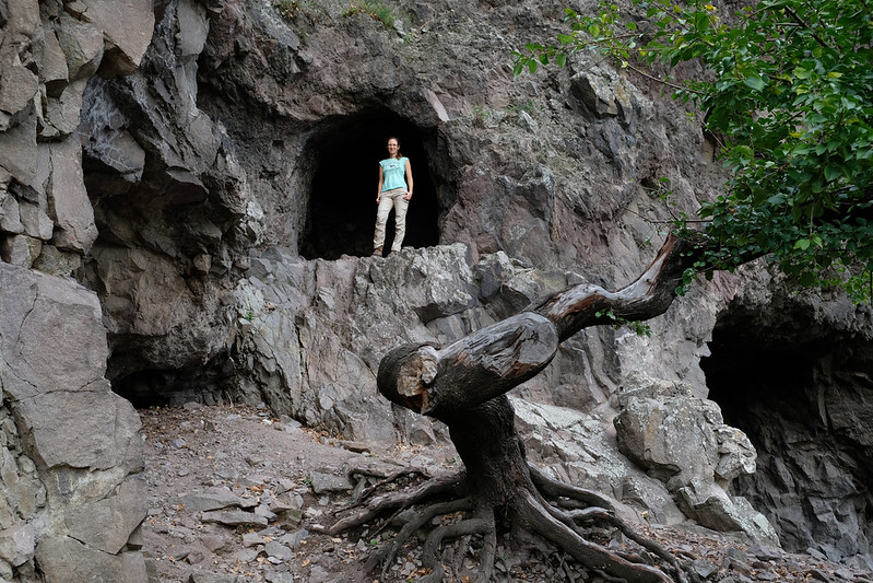 Hermit caves of Börzsöny Mountains, Hungary