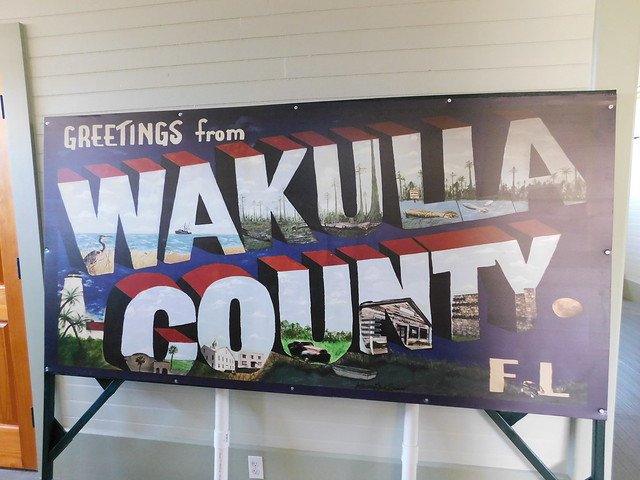 Greetings from Wakulla County Sign