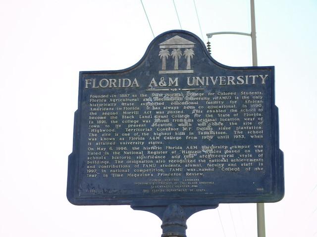 Florida A & M University Historic Marker