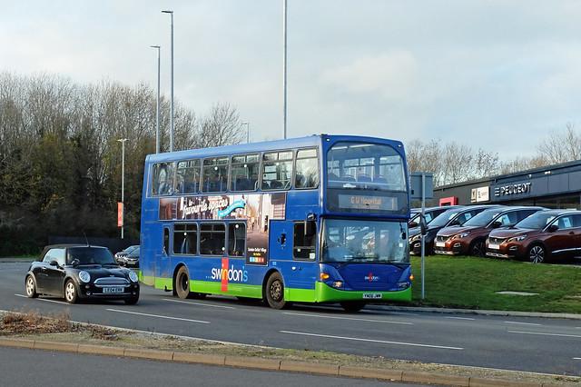 Swindon's Bus Co. YN06 JWM, Swindon