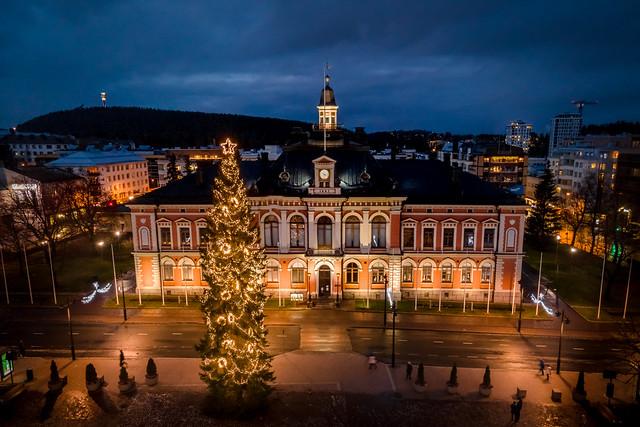 Kuopio joulukuusi 2020