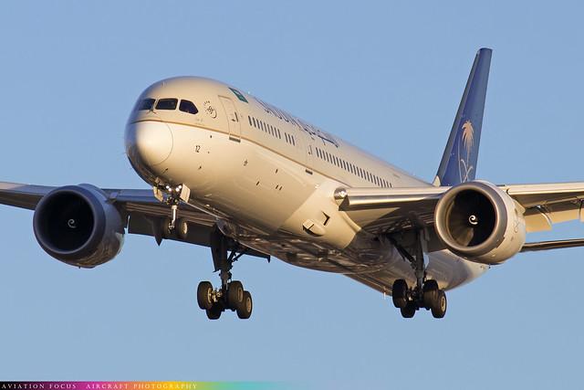 HZ-AR12  -  Boeing 787-9 Dreamliner  -  Saudi Arabian Airlines  -  LHR/EGLL 22/11/20