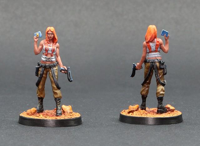 Zombicide Invader - Lara Hansen (Leeloo 5th Element)
