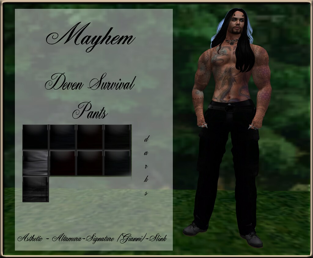 Mayhem Deven Survival Pants AD