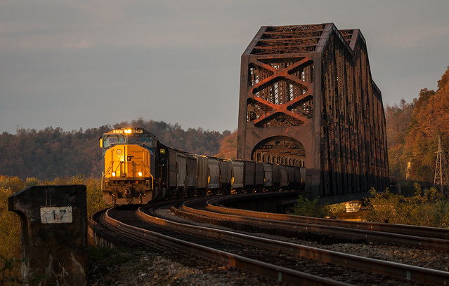Autumn Grain Over the Ohio