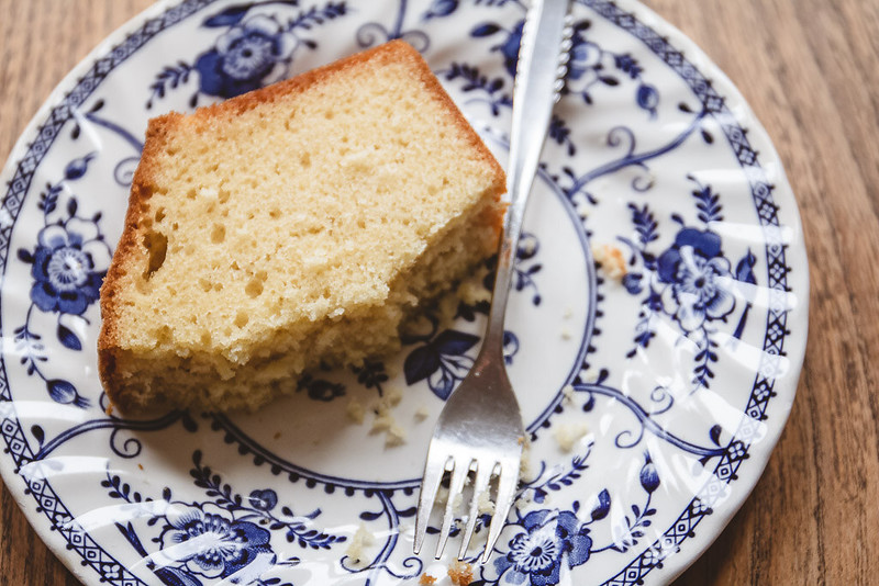 Recipe for Vanilla Pound Cake