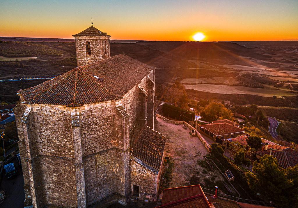 Church at sunset 2