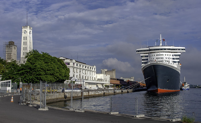 Queen Mary 2 in Rio