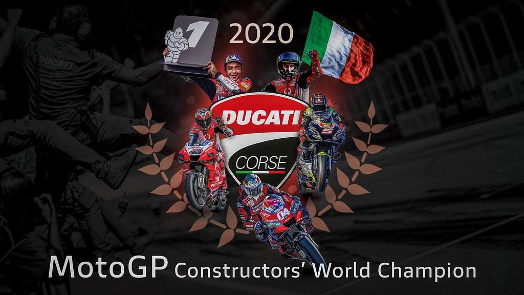 2020 MotoGP Constructor Winner