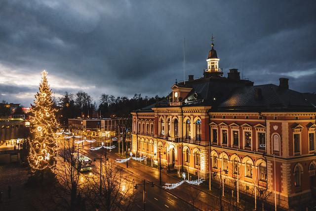 Kuopion joulukuusi 2020