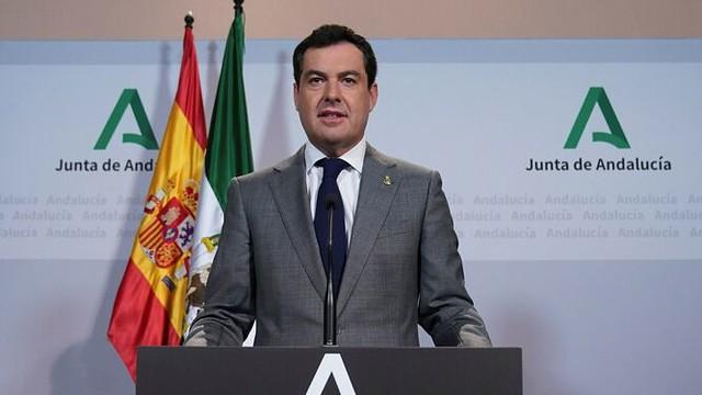 Juanma Moreno - Comparecencia