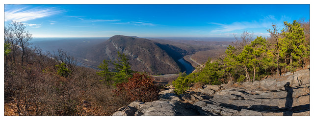 Happy Thanksgiving! View From Mt. Tammany - 20 November 2020