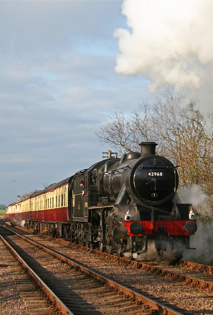 42968 heads away from Swithland reservior January 2007