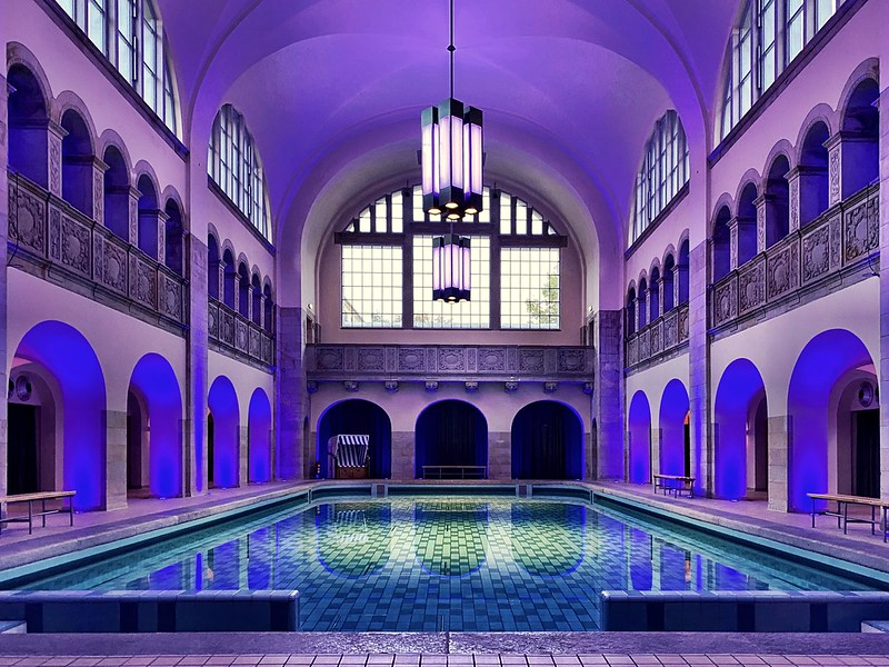 """A 20th century swimming bath ☆ """"Thanks for the Flickr explore"""""""