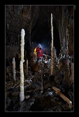 """Cueva del Paño - Zona de los """"lapiceros""""..."""