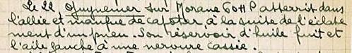 Georges Guynemer 22 avril 1915