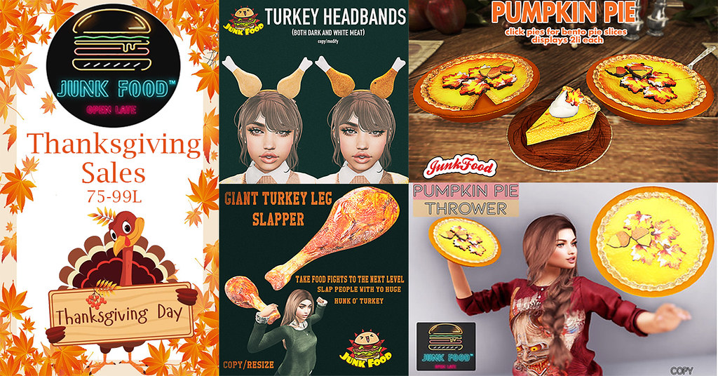 Junk Food – Thanksgiving Sales