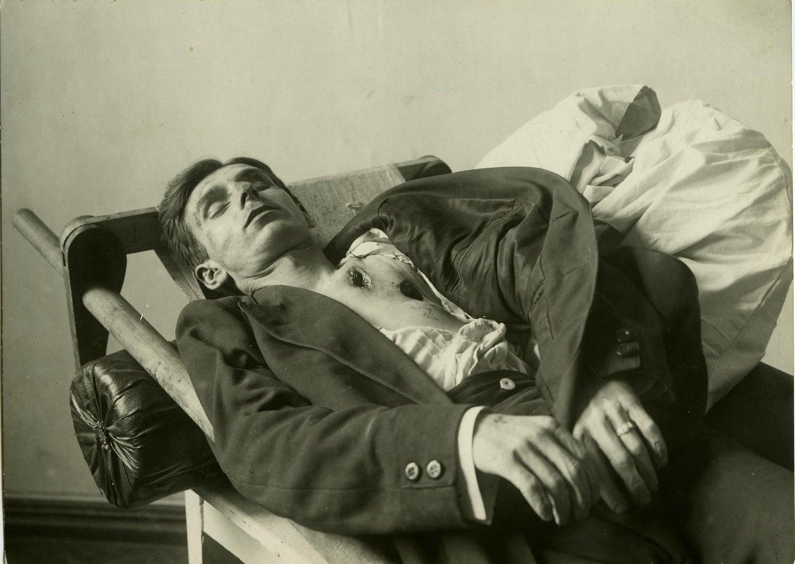 05. 1919. Михаил Владаркевич, учитель железнодорожной школы, член ЧК в Бекетовке, член РКП(б), убитый красновцами