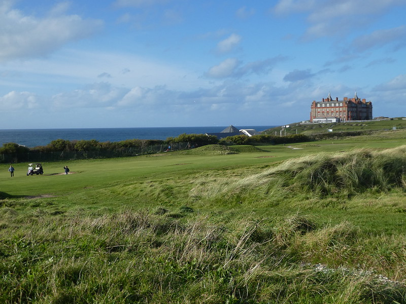 Newquay Golf Club, Fistral Beach